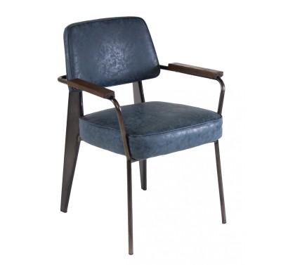 Кресло VIENNA Vintage blue