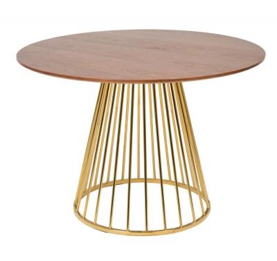 Стол обеденный Liverpool d110 Gold