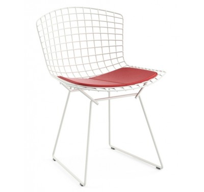 Cтул HARRY BERTOIA SIDE CHAIR Red