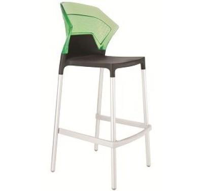 Барный стул EGO-BS black-green