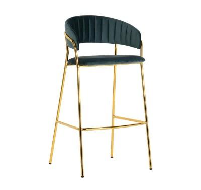 Кресло барное Portman Malachite
