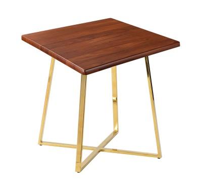 Стол обеденный Haku Nut Gold